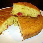 recette Gâteau aux amandes et cerises confites