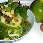 recette SALADE GOURMANDE, CROQUANTE ET BIENFAISANTE