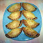 recette Chaussons feuilletés à la dinde et aux champignons