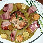 recette Soupe de pois cassés au lard