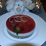 recette bavarois aux fraises