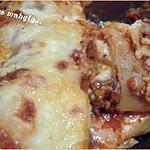 recette lasagna....a la bolognaise...