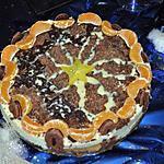 recette Entremt délice de caramel et chocolat