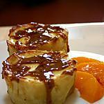 recette Tartelettes au  cheesecake de mangue et confiture de lait