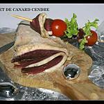 recette MAGRET DE CANARD CENDRE