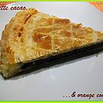Galette cacao & orange confite