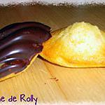 recette Madeleines, coques chocolat