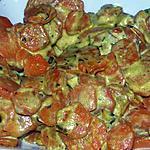 recette carotte au curry et fromage boursin