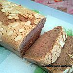 recette CAKE AU PRALIN