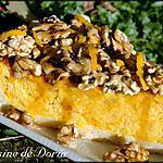 recette Tarte au potiron et noix caramélisées au miel de Cévennes