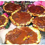 recette Tartelettes de Catounette - Version chocolat noir