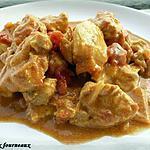 recette Colombo de poulet au lait de coco