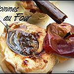 recette POMMES AU FOUR SAUCE AU CARAMBAR