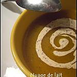 recette Velouté de Courge et sa Crème Moutardée
