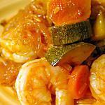 recette Demolition shrimp noodles