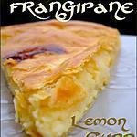 recette Galette frangipane et lemon curd