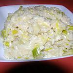 recette risotto aux poireaux