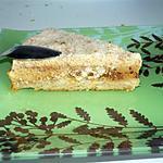 Gâteau glacé aux Daims