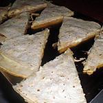 recette quesadillas apéritif dinatoire