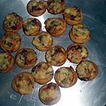 recette apéritif dinatore quiche gorgonzola saumon