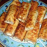 recette apéritif dinatoire roulé à la kefta