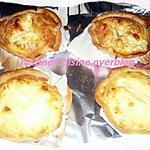 recette Tartelettes au fromage