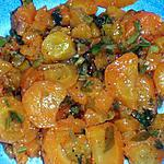 recette SALADE DE CAROTTES MARINEES