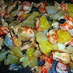 recette Ecrevisse aux agrumes