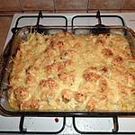 gratin de choufleur au poulet