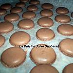 recette LES MACARONS AU CHOCOLAT