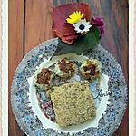 recette Boulettes de poisson à la coriandre et semoule au pavot