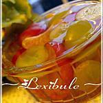 recette Gelée parfumée aux raisins et clémentines
