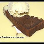 recette CAKE FONDANT AU CHOCOLAT TOUT EN DOUCEUR