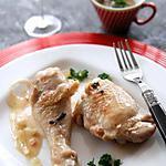 recette Cuisses de poulet au vin blanc