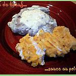 recette Pavé de boeuf sauce au poivre