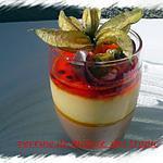 recette verrine de mousse des tropic
