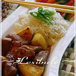 recette Porc à la sauce aigre-douce