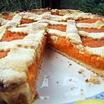 recette Tarte très rustique à la compotée de patates douces aux pommes