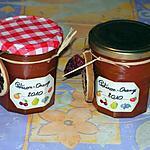 recette Confiture de citrouille/orange