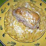 recette Blancs de volaille farcis au leerdammer