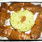 recette Civet de Cigales de mer au Maury rancio