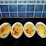 recette timbales de fruits de mer