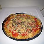 recette pizza reine aux champignons