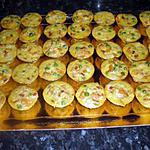 recette flan de légumes(apéritf dinatoire)
