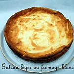 recette Ooo Gateau léger au fromage blanc ooO