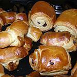 recette pain au chocolat et croissants maison