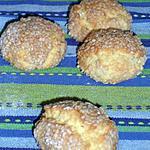 recette Sablés aux graines de sésame (m'chawek mekhfi)