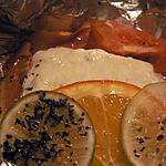 recette Papillote de poisson aux agrumes