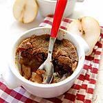 recette Crumble banane, poire et chocolat aux spéculoos