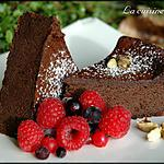 recette Gâteau crémeux chocolat et cardamome